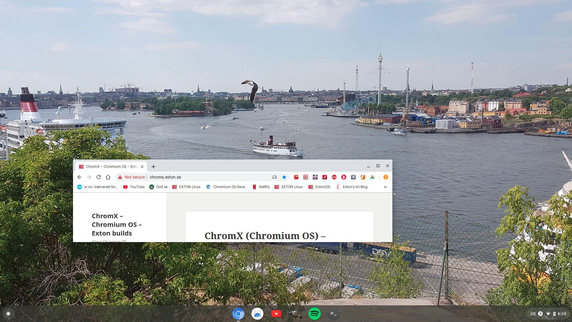 ChromX – Chromium OS – Exton builds – About Chromium OS