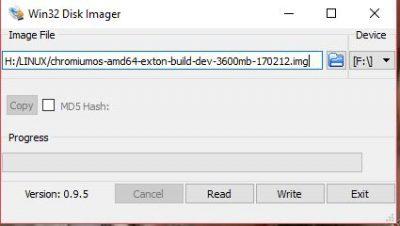 persistence USB – ChromX – Chromium OS – Exton builds